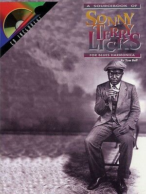 Collection Here The Sourcebook Of Sonny Terry Licks For Harmonica Harmonica Book And 000000178 Elegant In Style Instruction Books, Cds & Video