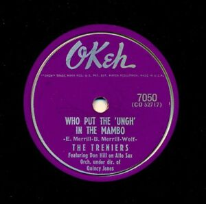 The-TRENIERS-1955-Okeh-7050-Who-Put-the-UNGH-in-the-Mambo-Get-Out-of-the-Car