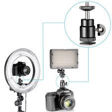 Mini Standard Ball Head W/ Lock and Hot Shoe Adapter Camera Cradle