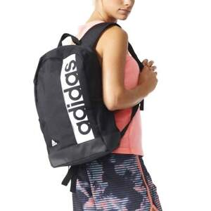 ea34baa40392 Image is loading Adidas-Linear-Performance-Backpack-Rucksack-Men-Women -Unisex-