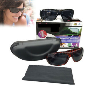 dfd34528c52 2 IN 1 BOX POLARYTE HD SUNGLASSES ANTI SCRATCH USEFUL FOR CYCLING ...