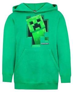 Minecraft-Green-Creeper-Boys-Hoodie-Kids-Long-Sleeve-Hooded-Sweater