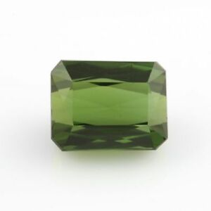 4-68ct-Natural-Loose-Tourmaline-Gemstone-Green-Rectangle