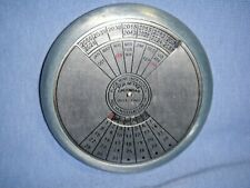 50 Year Calendar and Paperweight  2013 to 2062-Twist Dial