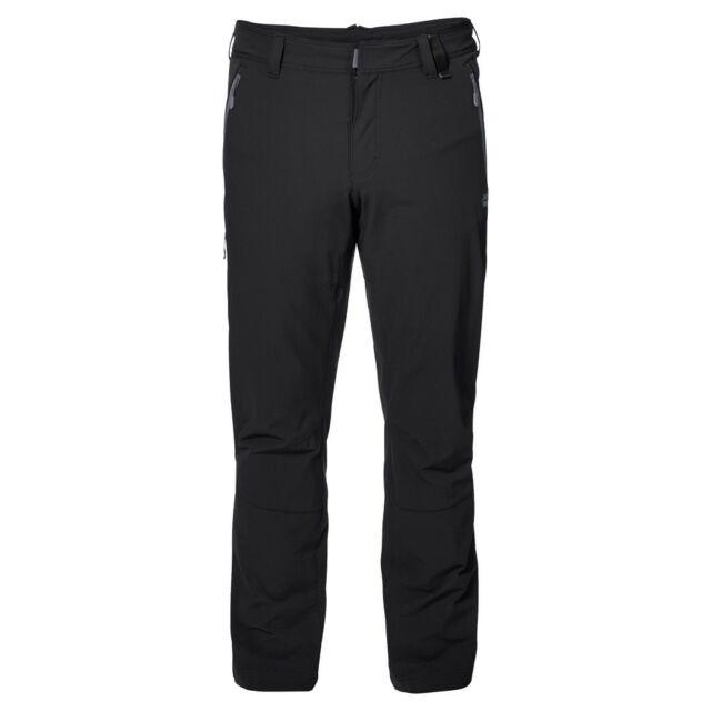 new styles aliexpress entire collection Jack Wolfskin Activate XT Men Softshell Trousers 32 Black