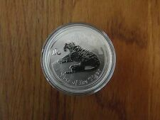 2010 Lunar II Tiger 1oz Silver Bullion Coin - BUNC