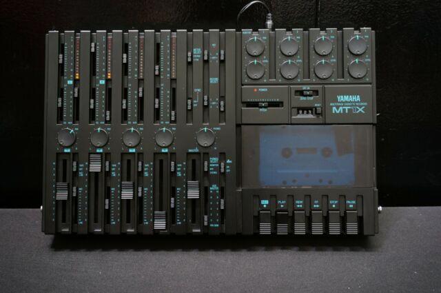 Yamaha MT1X 4 Track Multitrack Cassette Recorder With OG Box & Manual