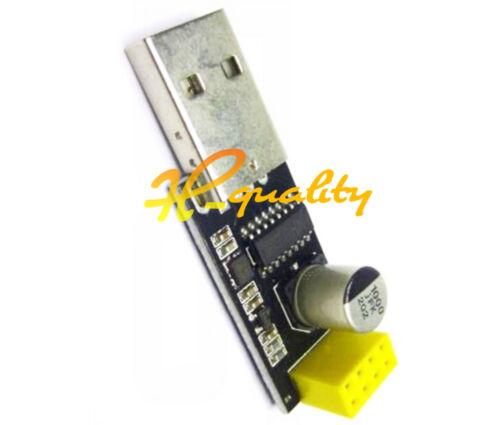 ESP01 Programmer Adapter UART GPIO0 ESP-01 Adaptateur ESP8266 USB BSG