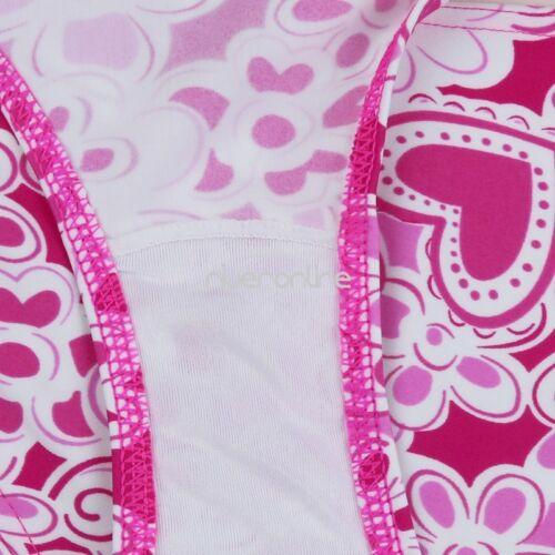 Badeanzug Schwimmanzug Tankini Sets mit Top Kinder Mädchen 3tlg Rock Slips