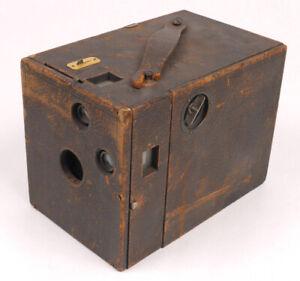 American-Manufacturing-Co-Focusing-Buckeye-Box-Camera-c-1899-Rare