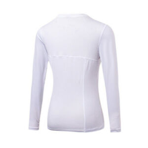 d01a2c9d Quick Dry Women Long Sleeve Fitness Gym Running Yoga T-Shirt Active ...