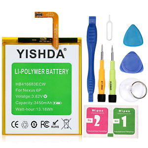 YISHDA-Nexus-6P-Battery-Replacement-Huawei-Google-Nexus-6P-Battery-HB416683ECW