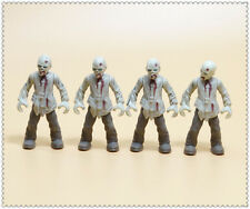 LOT OF 4 Mega Bloks The Walking Dead Call of Duty Zombies  Action Figures M9U