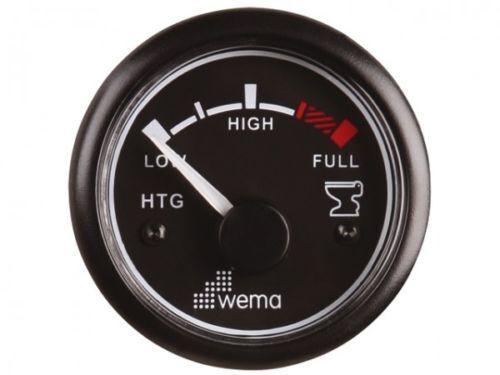 Wema Indicatore di Livello Acqua Sporca Serbatoio 52 mm 1224V