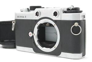 """""""NEAR MINT"""" Voigtländer Bessa T Silber Rangefinder Film Camera aus Japan"""