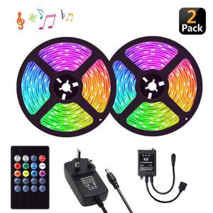 5M-10M-Music-RGB-LED-Strip-Lights-3528SMD-Tape-Sound-Sensor-IR-Remote-UK-Power