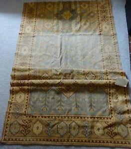 Victorian Era Pillows : ANTIQUE Victorian ERA Fabric KILIM 50