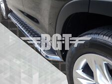 BGT 14-16 TOYOTA HIGHLANDER F1 STYLE SIDE STEP RUNNING BOARD ALUMINUM
