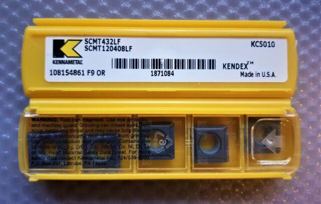 5 X CARBIDE CCMT09T302LF KC730 GRADE KENNAMETAL INSERT CCMT32505LF