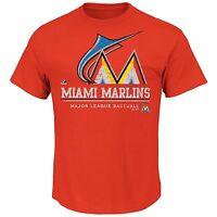 MLB Miami Marlins Submariner Men's Short Sleeve T-Shirt, Large