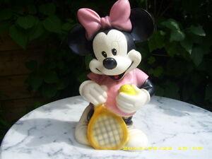 Minnie Mouse Maus Lampe - Figur Leuchte Kinderlampe Schlummerlicht ...