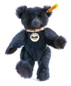 Rare-NEW-STEIFF-Fully-Jointed-Alpaca-Mohair-TEDDY-BEAR-Steiff-Gift-Box-039171