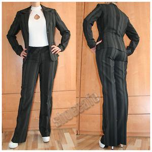 melrose-Hosenanzug-Damen-Blazer-Anzug-Hose-gestreift-auch-Kurz-amp-Lang-Groessen