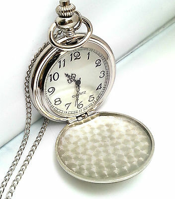 Personalised Engraved Pocket Watch 18th/21st/30th/40th/50th/60th Birthday Gift