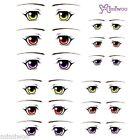 Obitsu 27cm Body 1/6 Dollfie Doll head Fashion Eye Decal Sticker 13 (12 pairs)