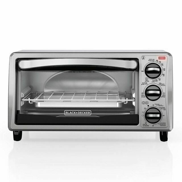 Black /& Decker 4-Slice Toaster Oven