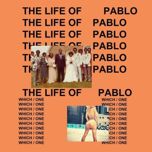 Kanye West The Life of Pablo 2016 Album Music Poster Art Print 12x12 24x24 32x32
