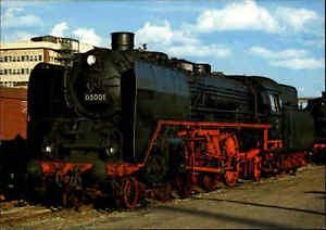 EISENBAHN-Postkarte-Lokomotive-Dampflok-Lok-03001-Schnellzug-Deutsche-Reichsbahn
