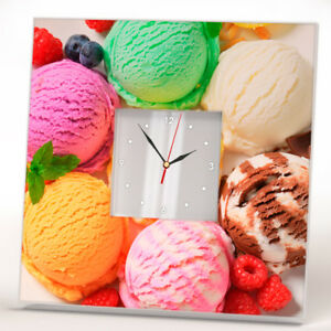 Ice-Cream-Decor-Wall-Clock-Mirror-Dessert-Food-Art-Design-Home-Kids-Room-Gift