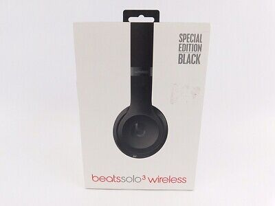 Beats Solo3 Wireless Series On Ear Headphones Matte Black Mp582ll A 190198379566 Ebay