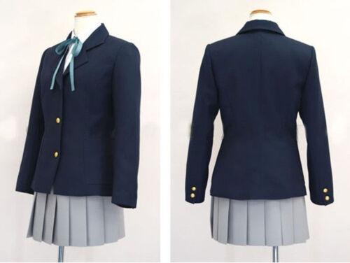 Stock K-on ! Hirasawa Yui Uniform Cosplay Costume School Uniform Nakano Azusa /&