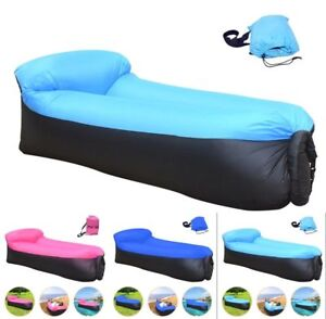 Air-Sleeping-Bag-Lazy-Chair-Lounge-Sofa-Bed-Inflatable-Camping-Holiday-AirBed-C1