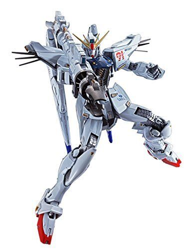 Bandai Tamashi Nations Metal Build Gundam F91'bilen Suit Action Figur