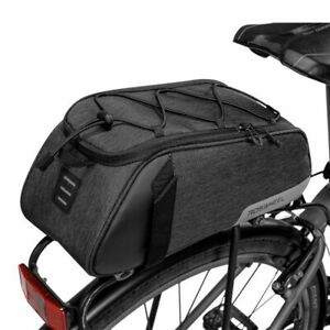 Roswheel-MTB-Mountain-Bike-Cycling-Rear-Seat-Rack-Trunk-Bag-Pack-Pannier-Carrier