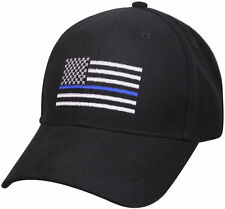 Thin Blue Line Flag Low Profile Police Baseball Cap Law Enforcement Hat 99885