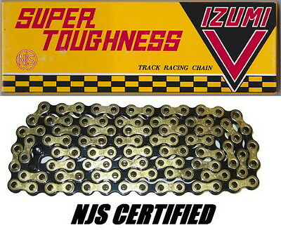 Izumi V Super Toughness Gold /& Black Fixed-Gear Track Bicycle Chain Keirin NJS
