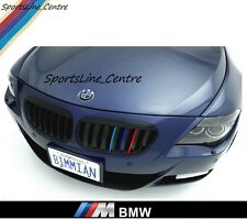 Kidney Grille M Sport Colour Strip Sticker Vinyl BMW M1 M3 M4 M5 M6 X1 X3 X5 gs