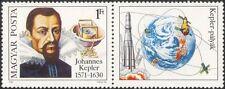 Hungary 1980 Kepler/Astronomer/Astronomy/Space/Science/Rockets 1v + lbl (n45474)