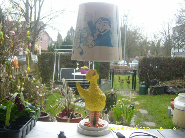 Gonzo Sésame Segment MUPPETS-Lampe-Personnage Luminaire-Lampe Pour Enfants-Lampe alt