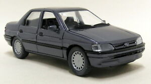 Schabak-1-24-Scale-1528-Ford-Orion-mk3-Metallic-Grey-Vintage-Diecast-model-car