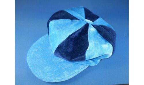 Sky Blue and Navy Flat Cap Football Supporters Coventry
