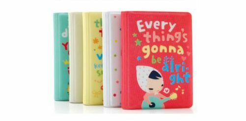 New cute card ticket receipt organiser bag purse pouch 5 designs 14 slots