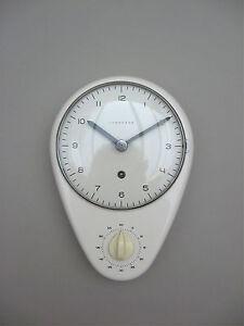 Pleasing Details About Rare 1956 Max Bill Mechanical Kitchen Clock With Timer Junghans Bauhaus Ulm Era Download Free Architecture Designs Rallybritishbridgeorg