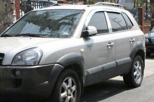 4 pezzi AUTO Clover Deflettori Vento Set per HYUNDAI TUCSON 2004-2010