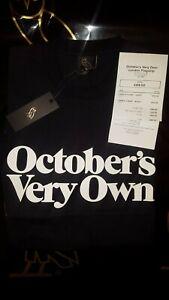 7f1762c5 OVO Familia Black T Shirt, 100% Authentic Drake Clothing Brand ...