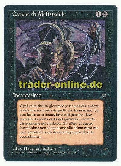 Kedjor av Mephistopheles NM magi Italian Legends original